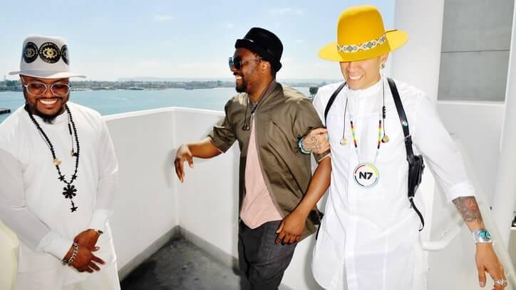 Black Eyed Peas. Fotografía: Getty