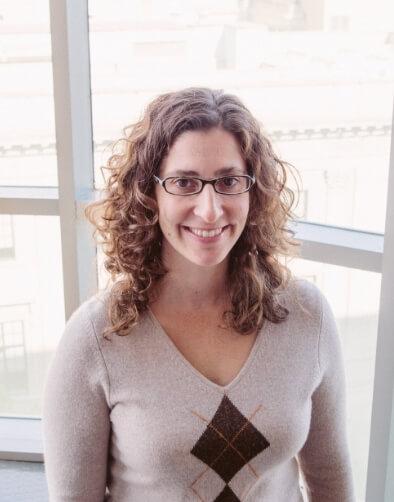 Dra. Amber D'Souza, autora del estudio. Fotografía: AIDS Cohort Study