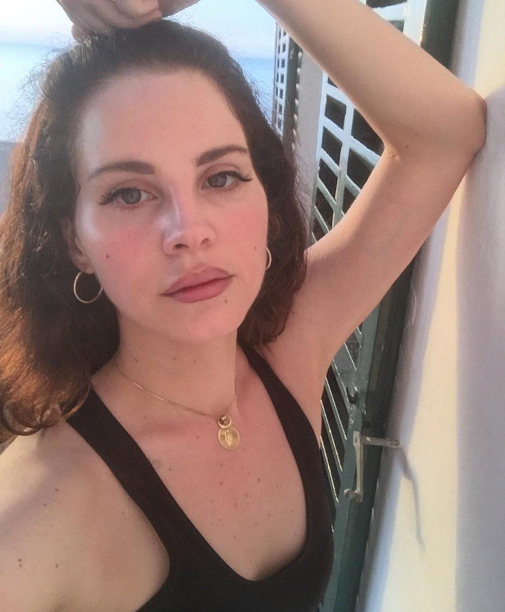 Lana Del Rey. Fotografía: Instagram