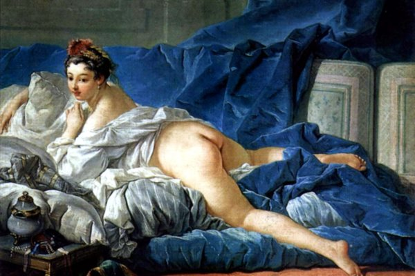 Brown Odalisque (1745), de François Boucher.