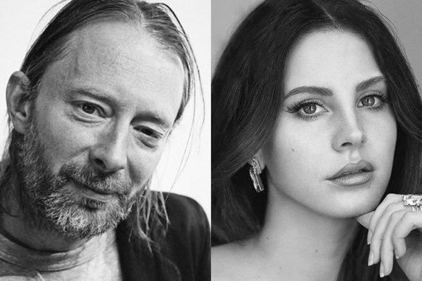 Thom Yorke y Lana De Rey. Fotografía: FACT/Elle