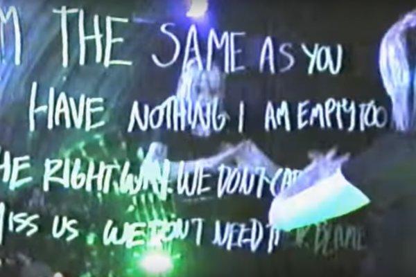 Alice Glass en su video