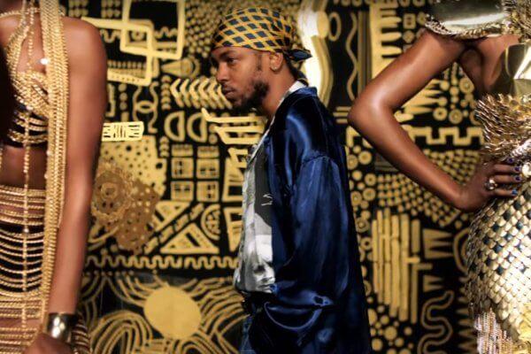 Kendrick Lamar en el video