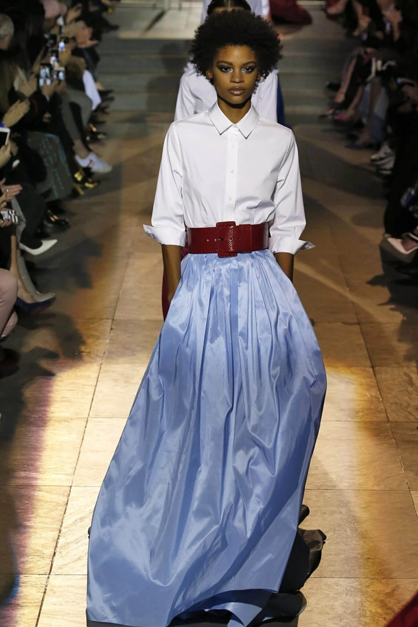 Carolina Herrera AW 2018. Fotografía: Getty Images