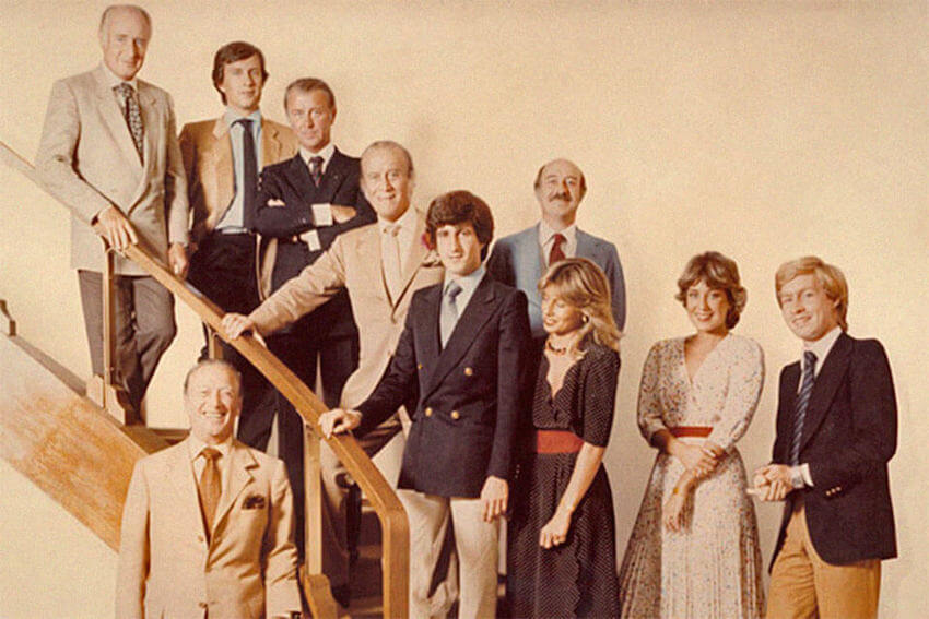 La Familia Gucci en los 70. Fotografía: Elle