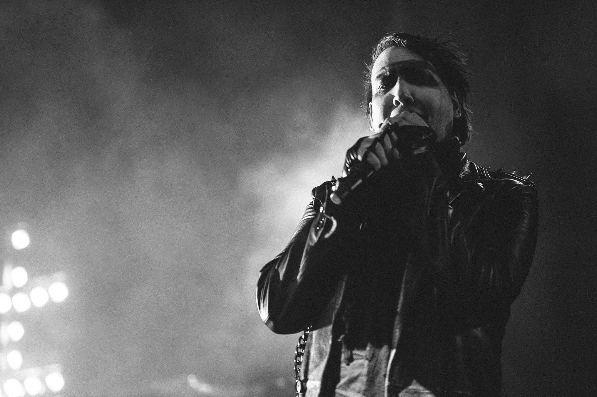 Marilyn Manson es abucheado por cantar incoherencias y abandona su propio show en Nueva York