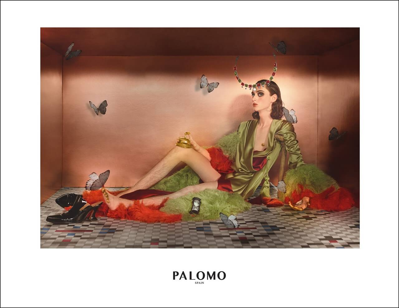 Palomo Spain SS 2018. Fotografía: Filip Custic.