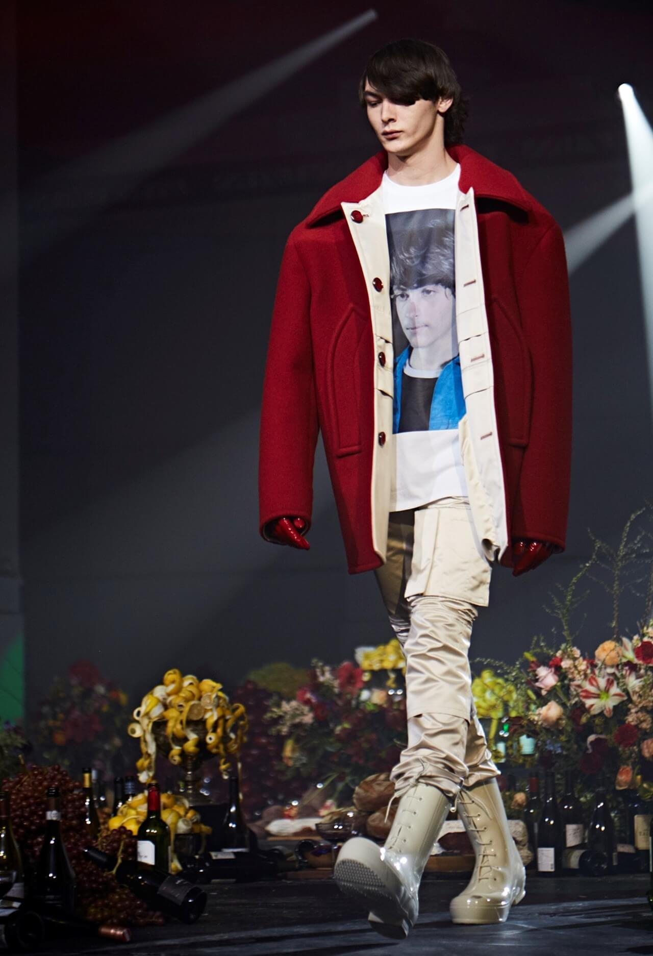 Raf Simons x Calvin Klein AW 2018. Fotografía: JDee Allin.