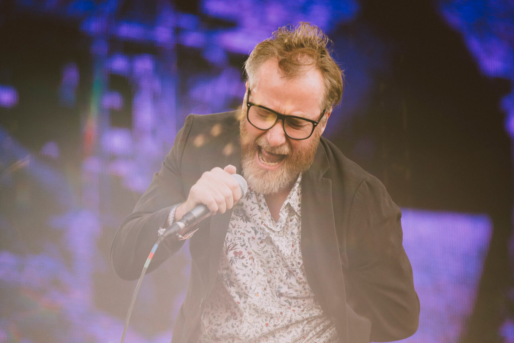 The National @ Lollapalooza Chile 2018. Fotografía: Mila Belén para mor.bo