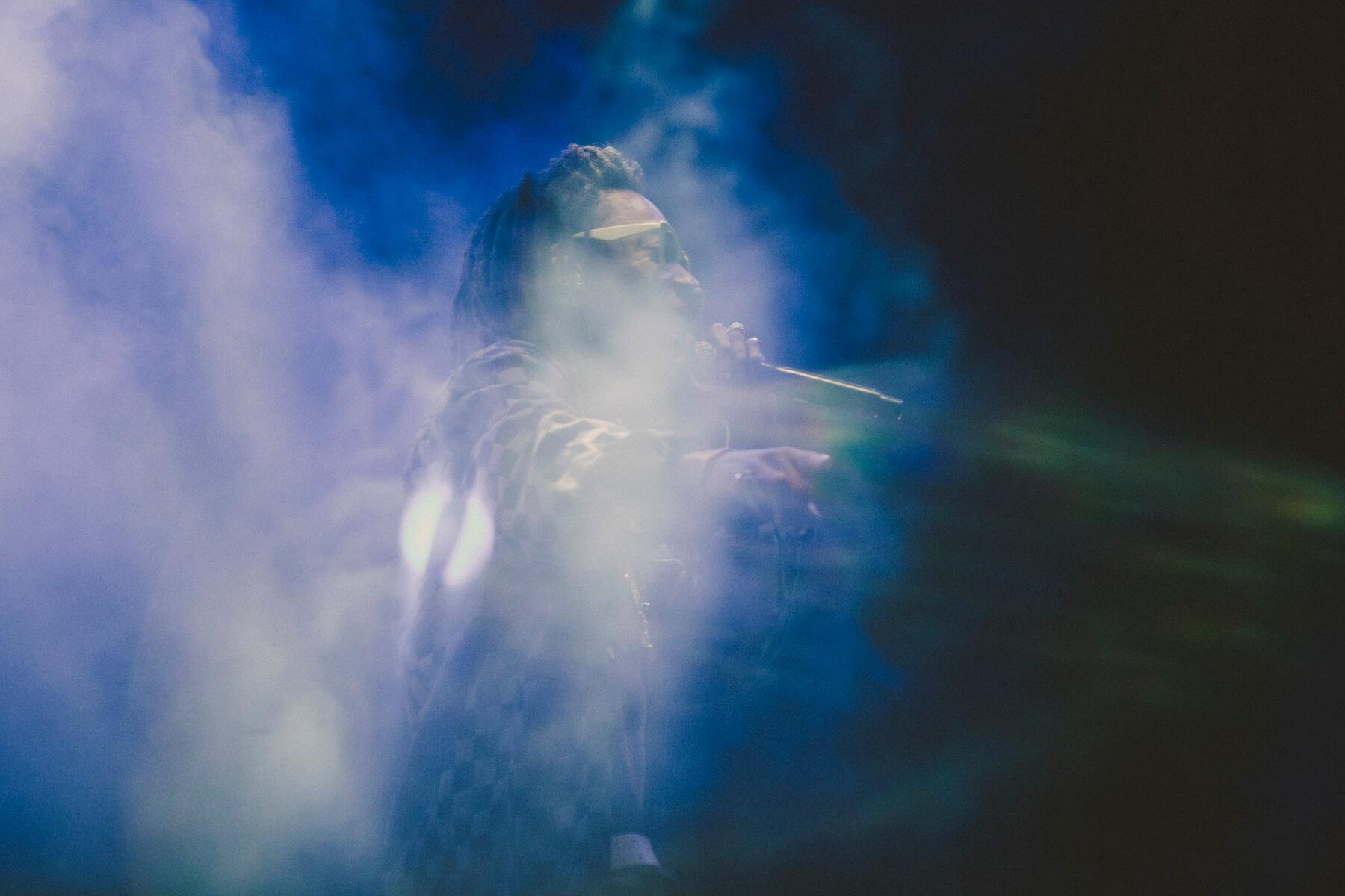 Wiz Khalifa @ Lollapalooza Chile 2018. Fotografía: Mila Belén para mor.bo