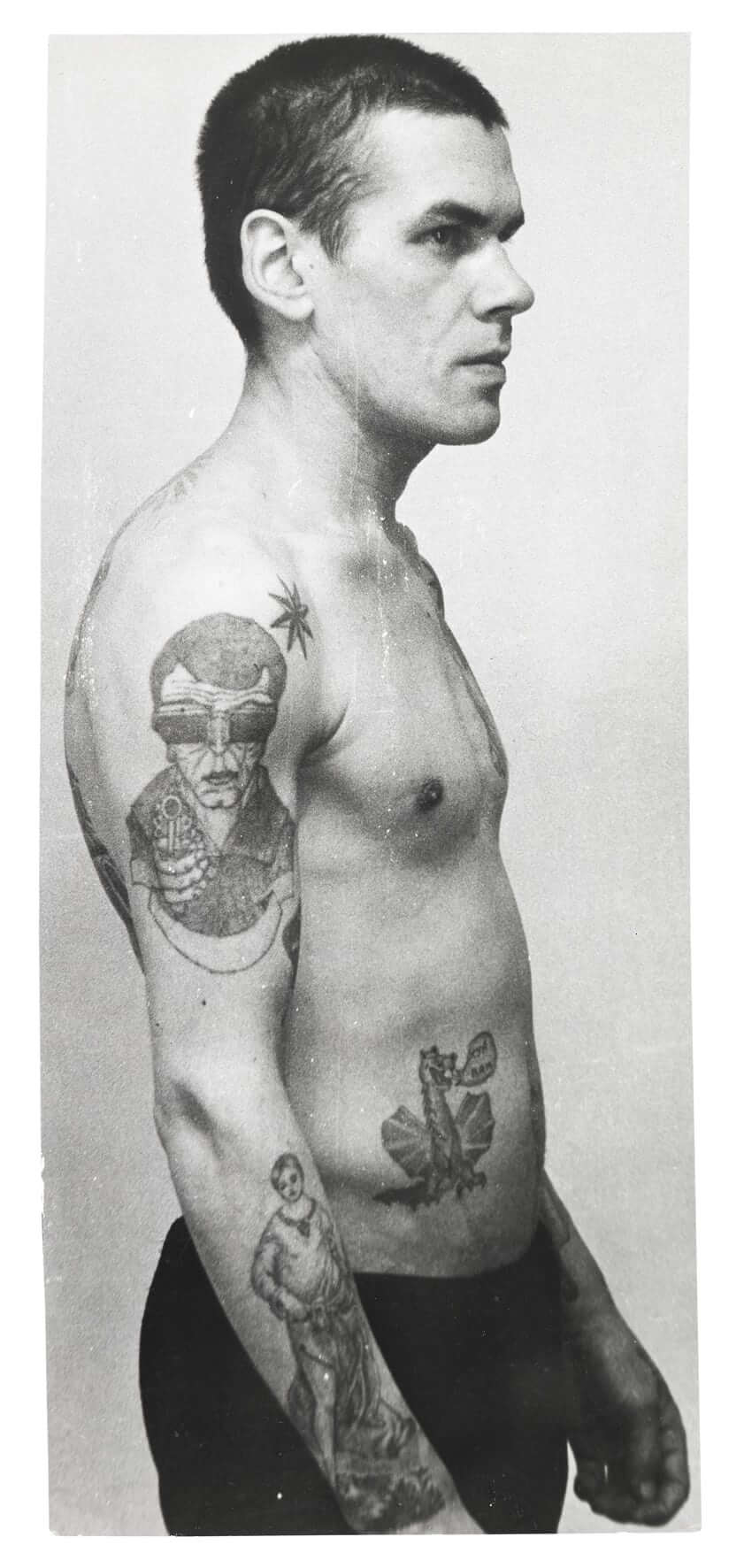 Russian Criminal Tattoo Police Files. Fotografía: Arkadi Bronnikov/FUEL
