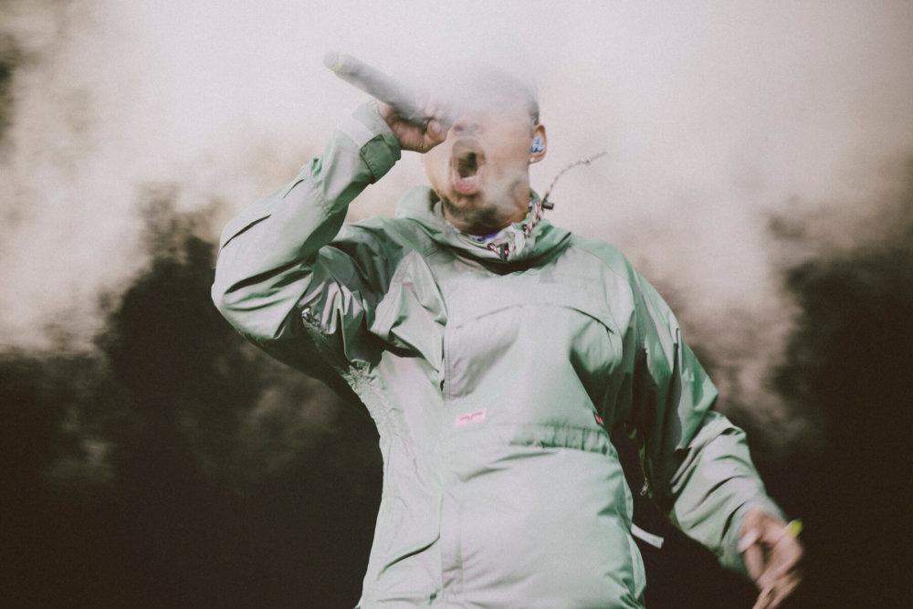 Chance The Rapper @ Lollapalooza Chile 2018. Fotografía: Mila Belén para mor.bo