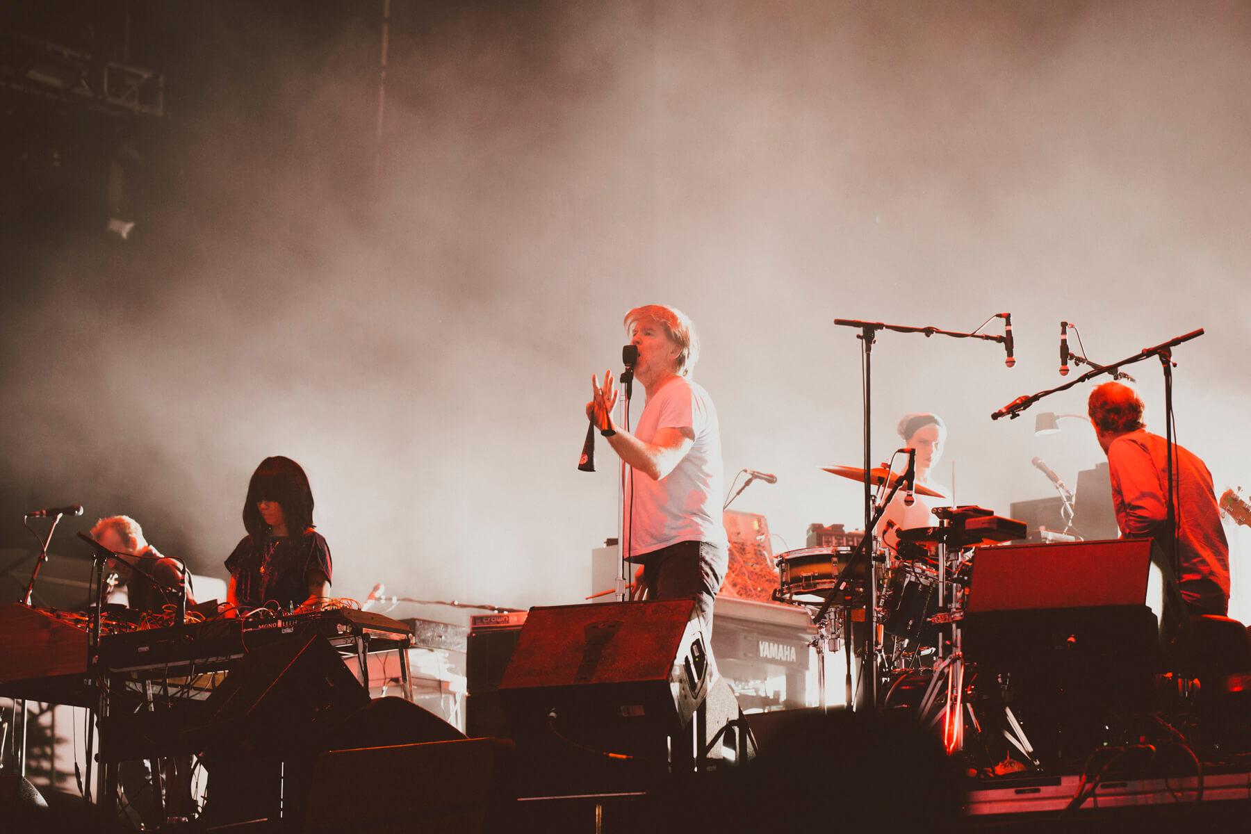 LCD Soundsystem @ Lollapalooza Chile 2018. Fotografía: Mila Belén para mor.bo