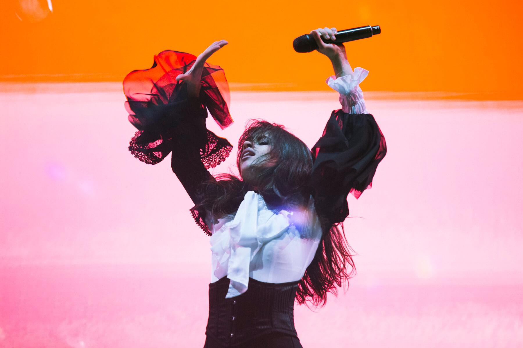 Camila Cabello @ Lollapalooza Chile 2018. Fotografía: Mila Belén para mor.bo