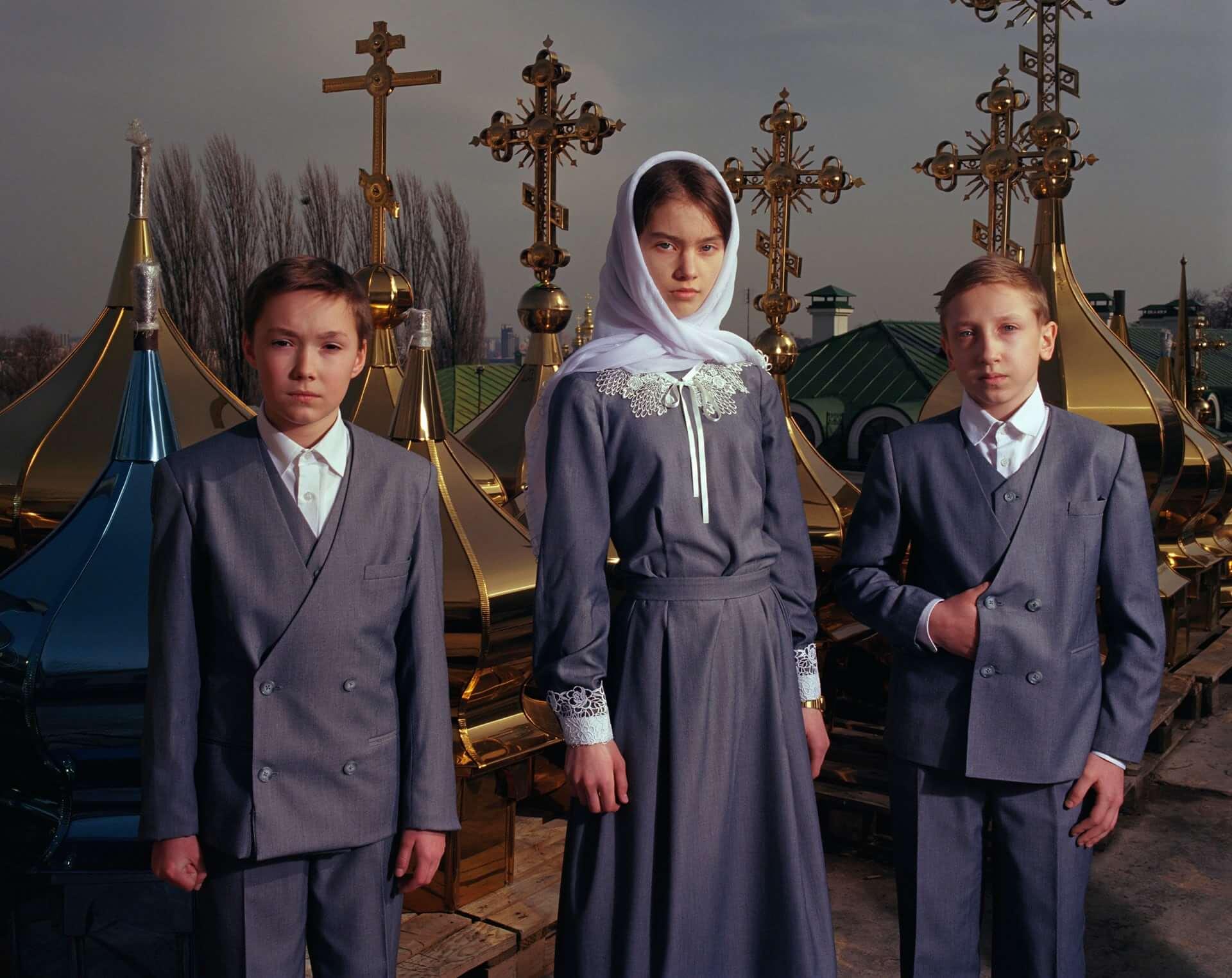 Displaced Ukranians. Fotografía: Mark Neville