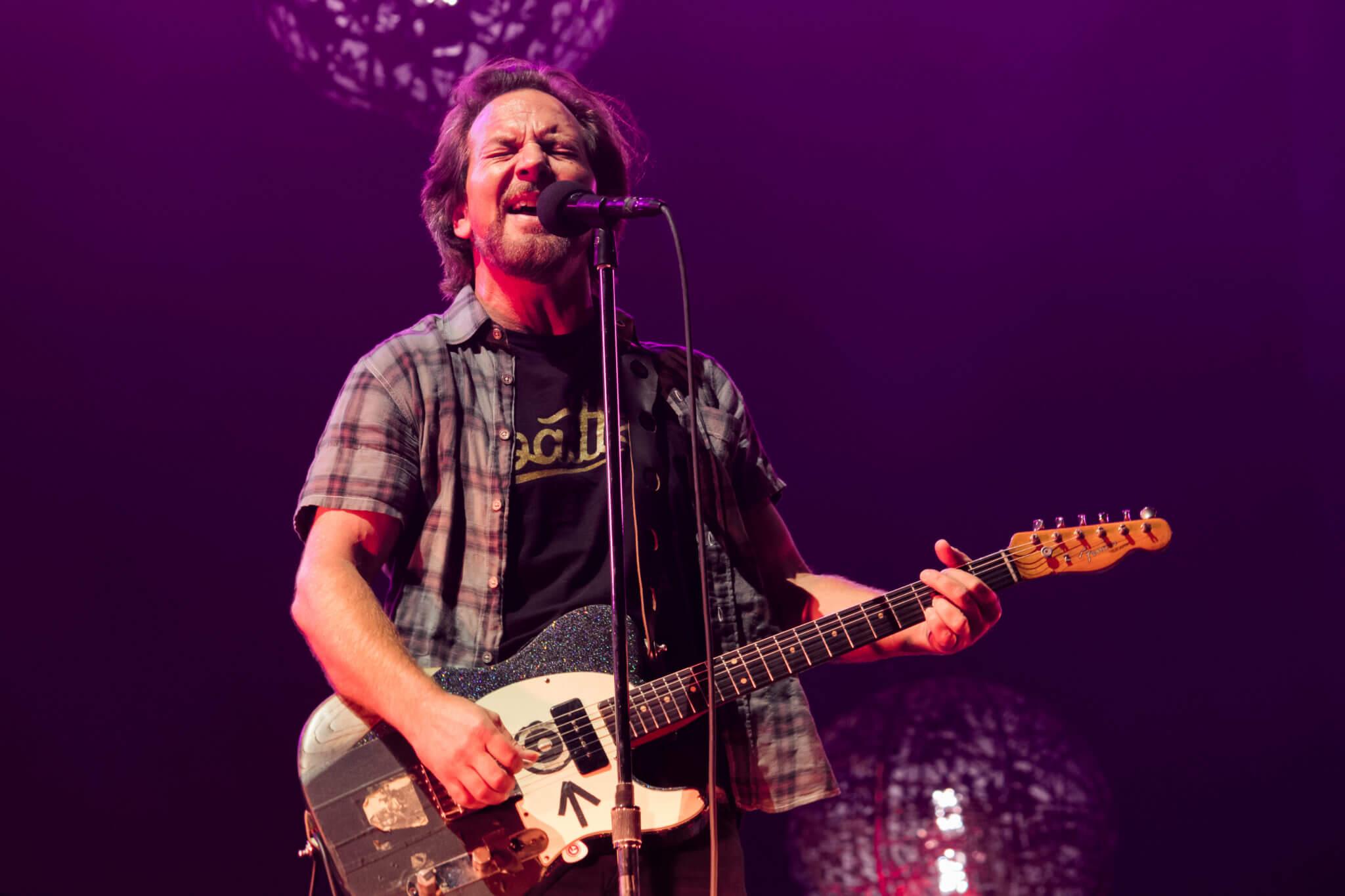 Pearl Jam @ Lollapalooza Chile 2018. Fotografía: Lukas Cruzat para mor.bo