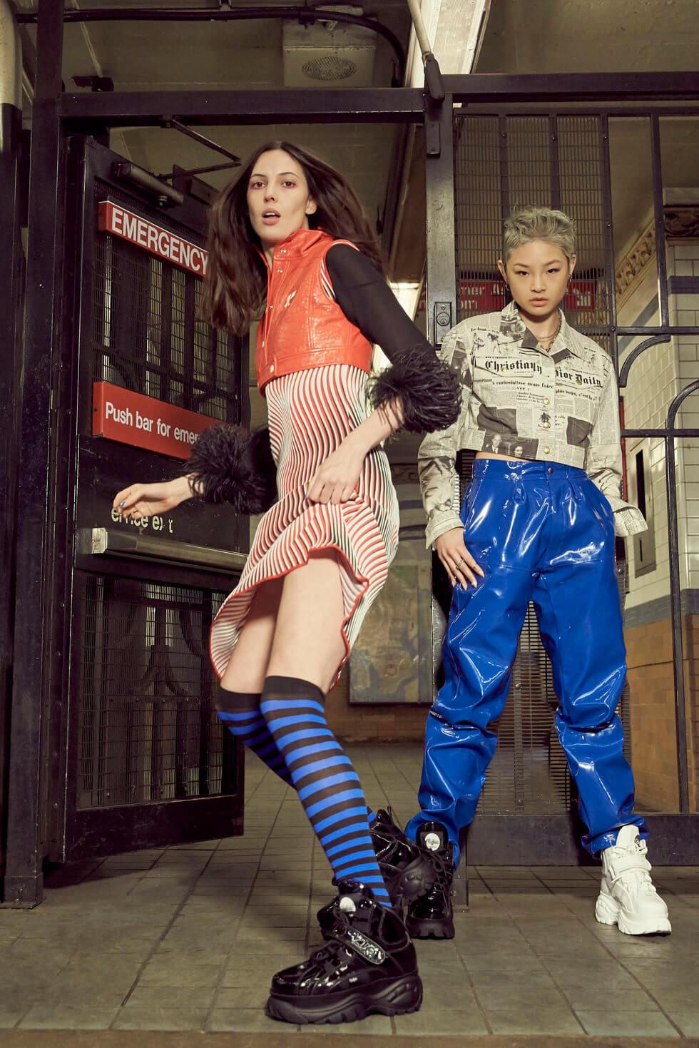 Buffalo London Sneaker Campaign 2018. Fotografía: Buffalo London