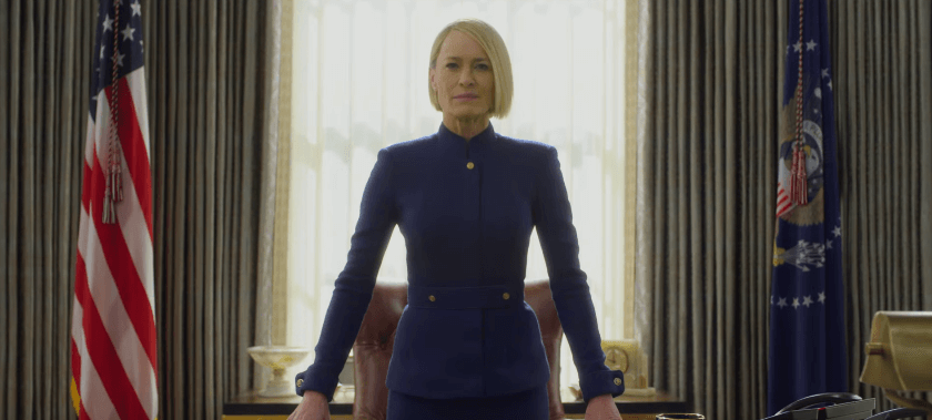 """Bienvenida, Presidenta: La Casa Blanca tiene nueva líder en el trailer de """"House of Cards"""""""