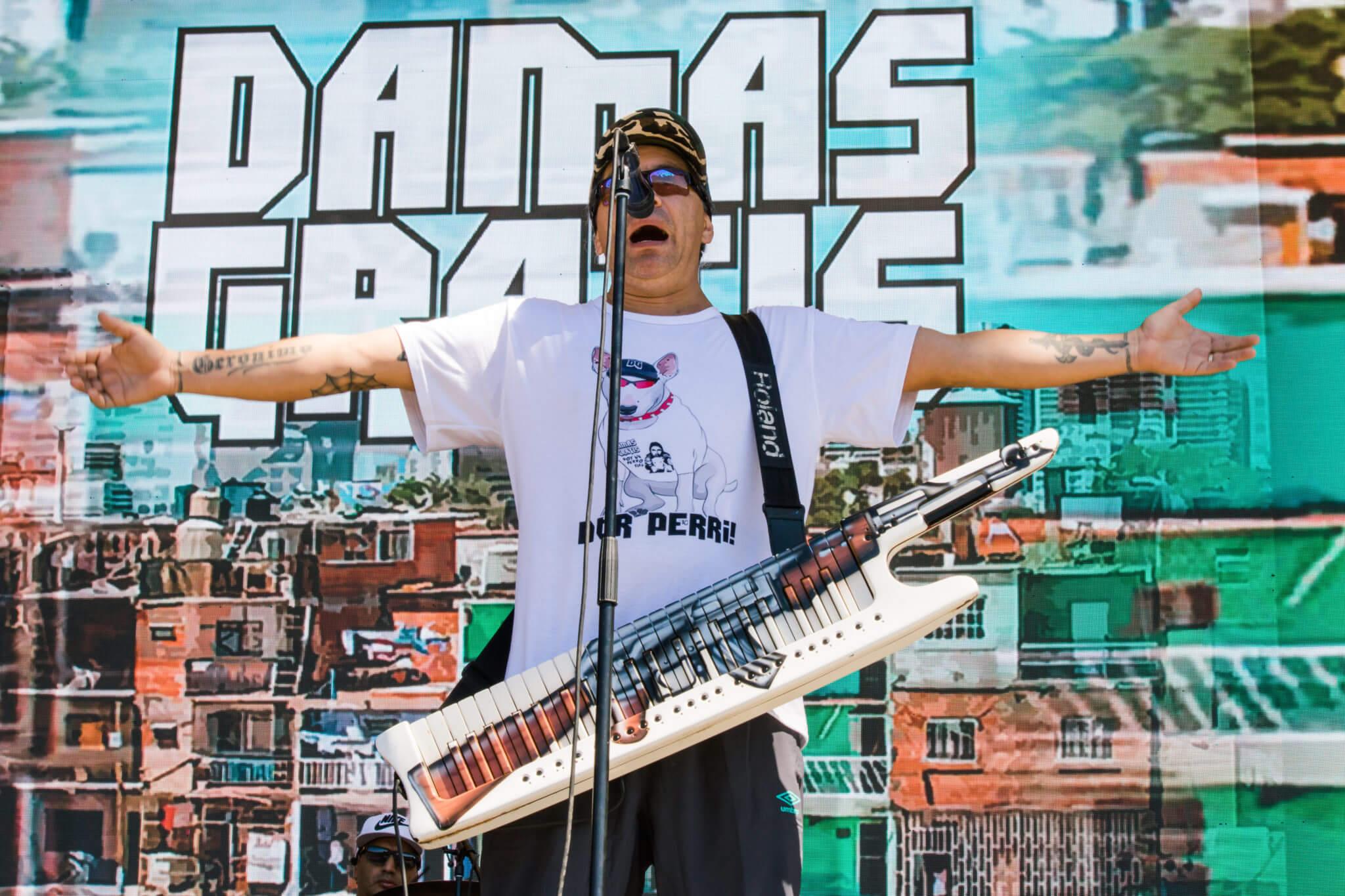 Damas Gratis @ Lollapalooza Chile 2018. Fotografía: Lukas Cruzat para mor.bo