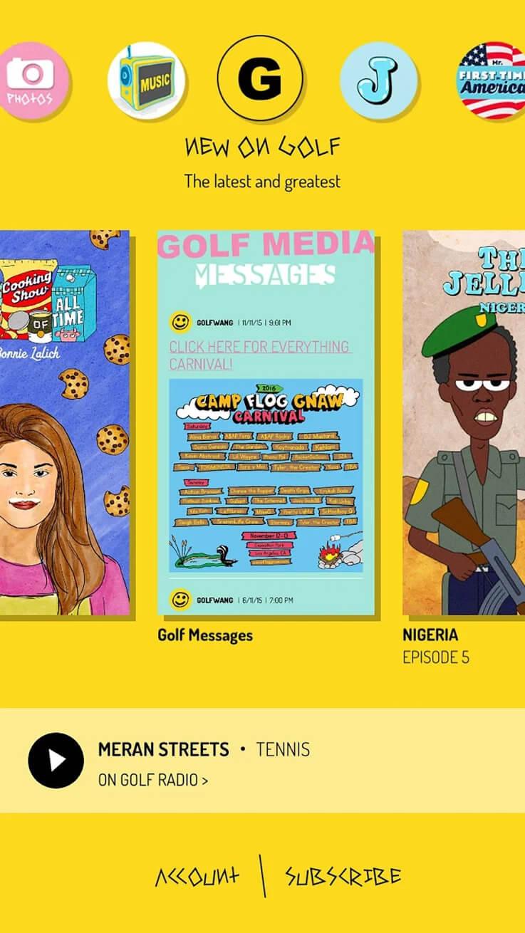 Golf Media. Imagen: Google Play