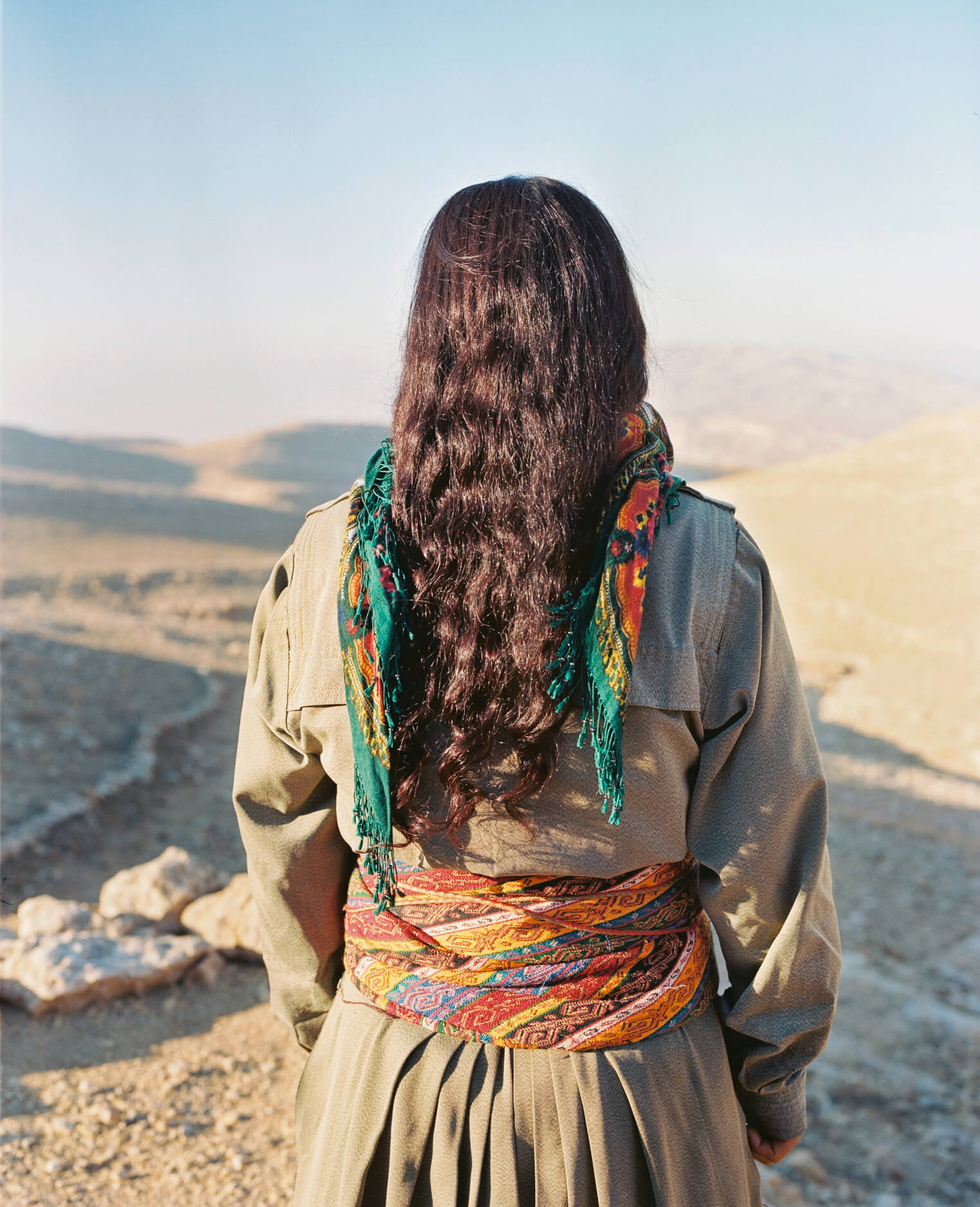 Jin, Jiyan, Azadi - Frauen, Leben, Freiheit - die kurdischen Freiheitskämpferinnen. Fotografía: Sonja Hamad