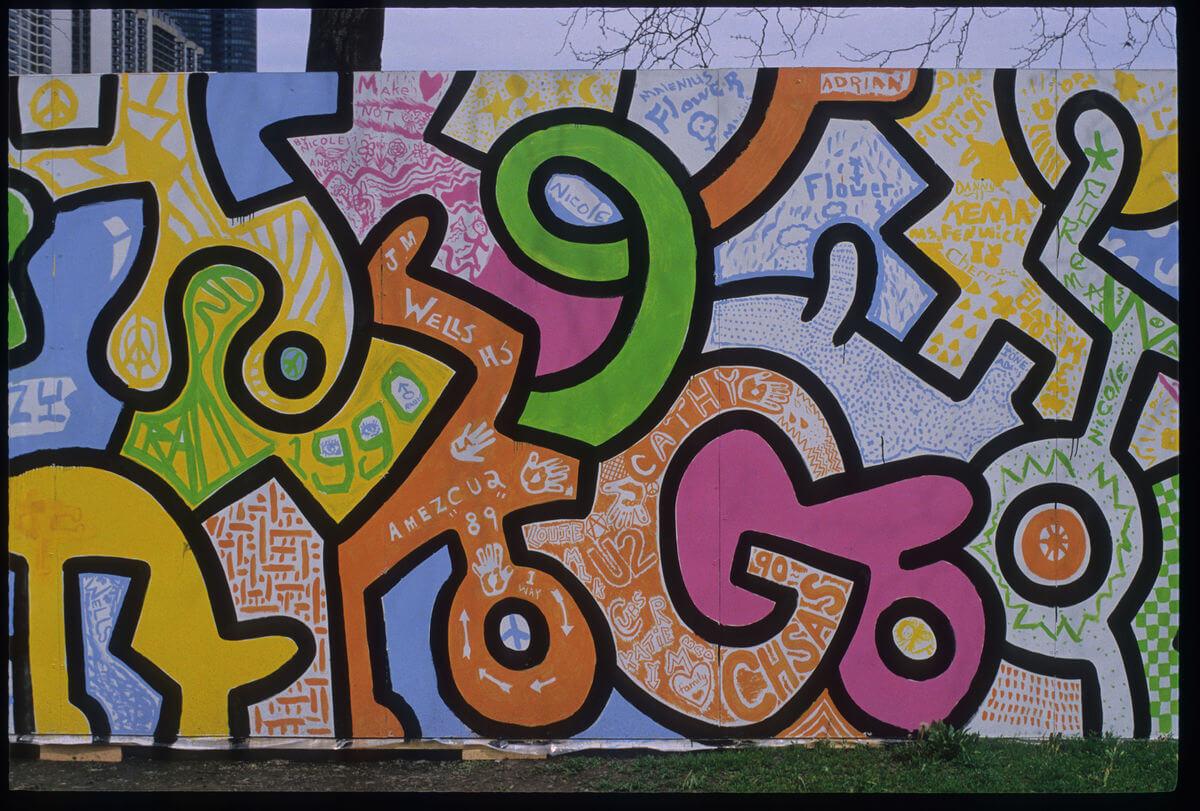 Parte del mural finalizado. Fotografía: Marcelino Y. Fahd/Chicago Cultural Counsel