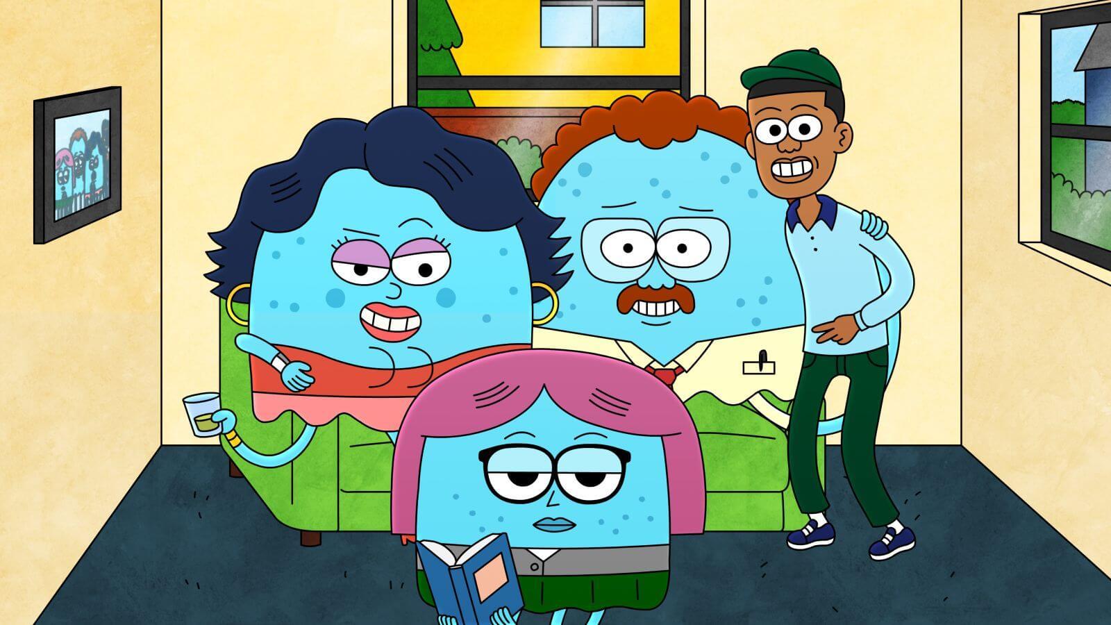 The Jellies. Imagen: Adult Swim