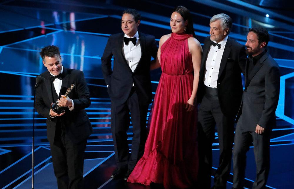 Sebastián Lelio recibe el Oscar a Mejor película Extranjera por