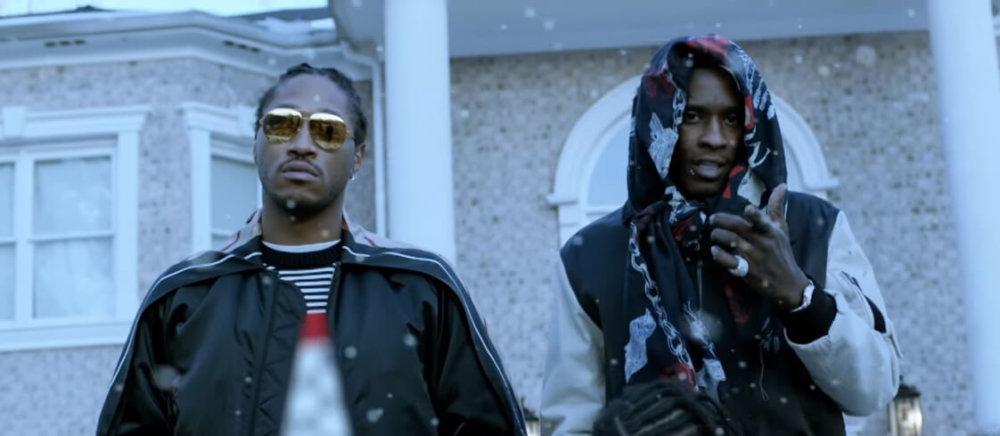 Future y Young Thug en el video