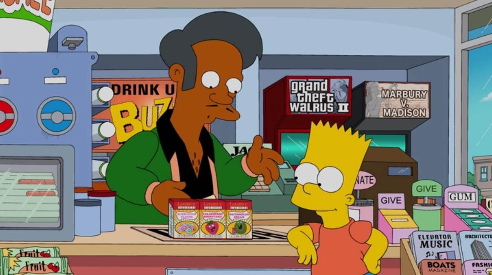 """""""Los Simpson"""" responde a las polémicas sobre el personaje de Apu y los estereotipos raciales"""