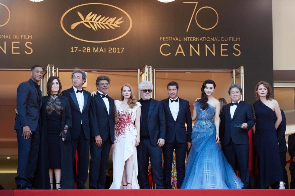 Los miembros del jurado del Fetsival de Cannes 2017. Fotografía: Getty