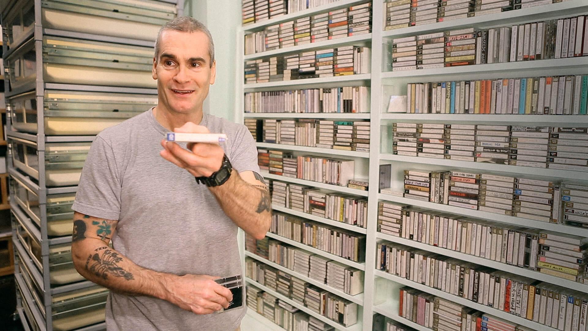 Henry Rollins en Cassette: A Documentary Mixtape.