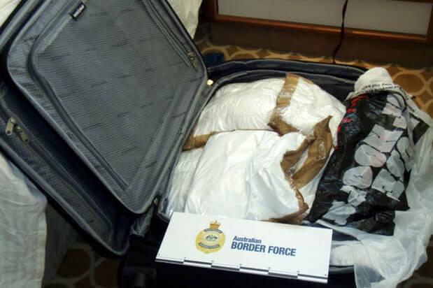 No, no escondieron las drogas para nada. Fotografía: Australian Border Force