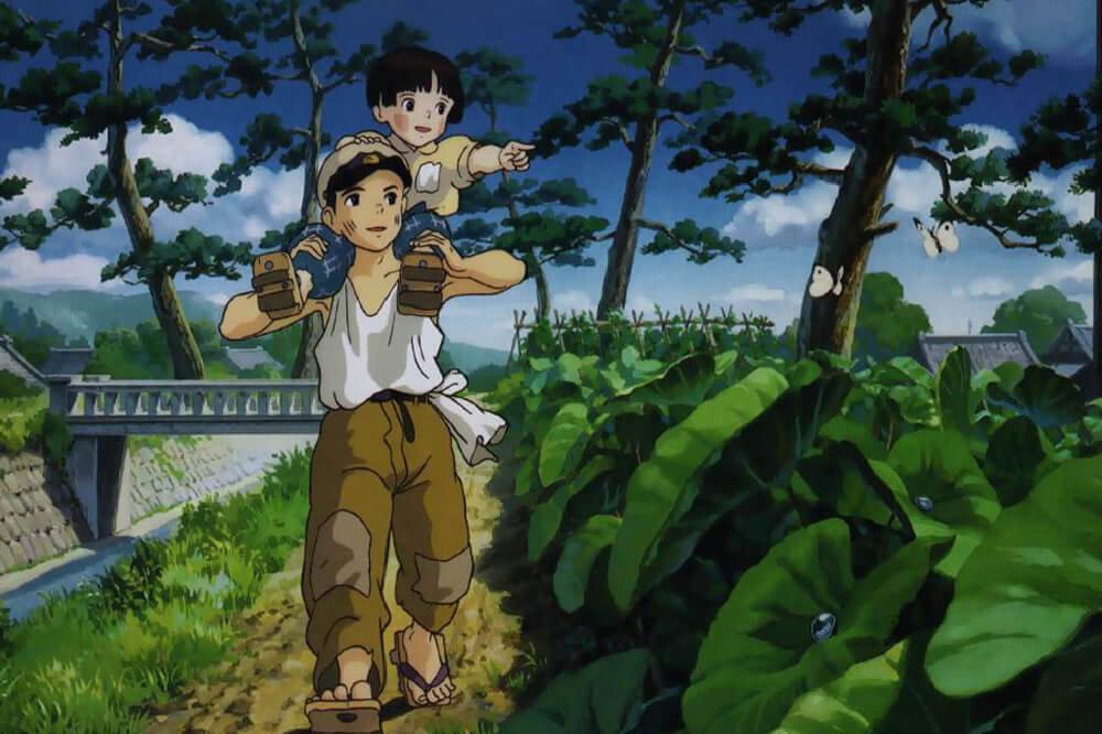 Grave Of The Fireflies. Imagen: Studio Ghibli