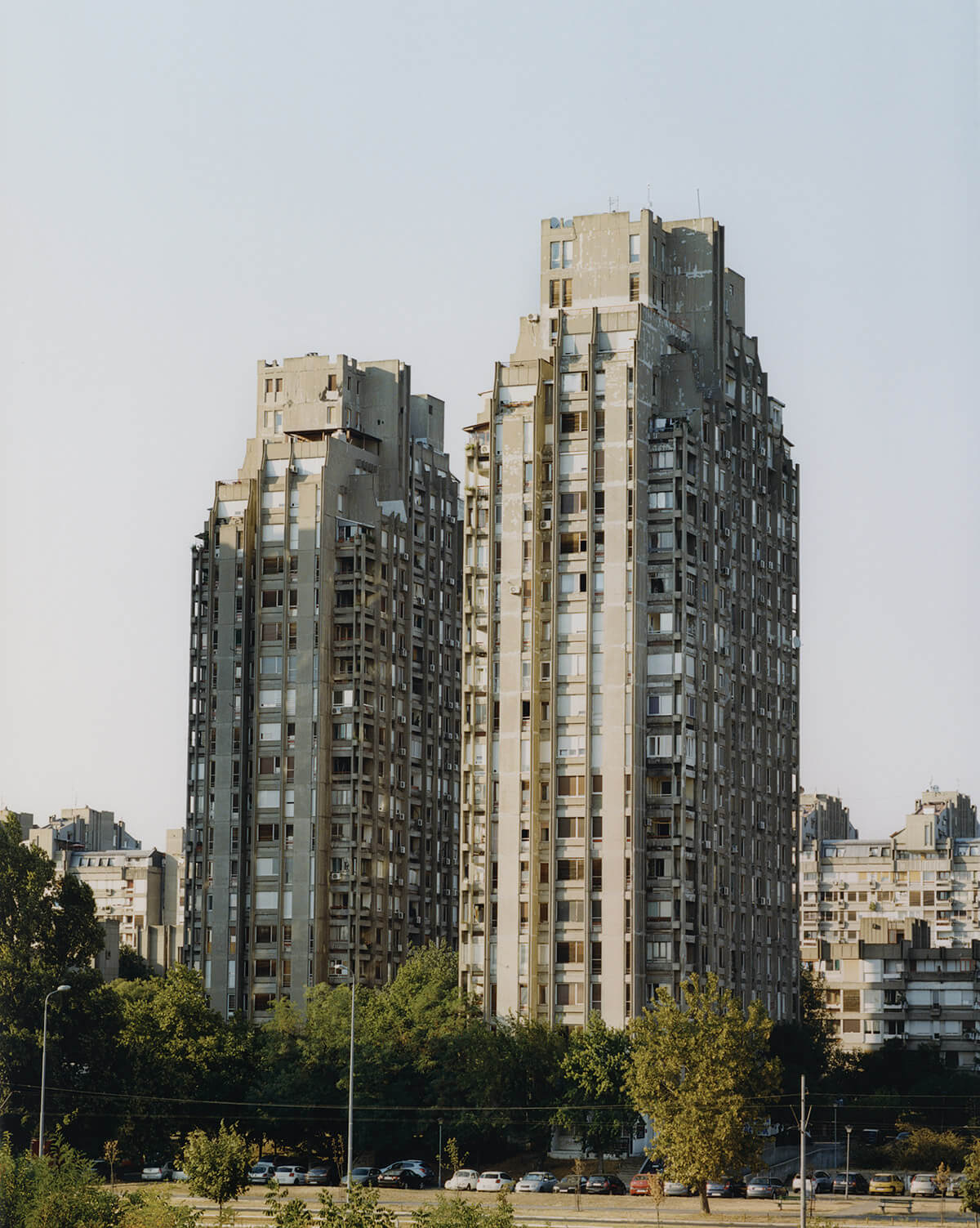 Blokovi: Novi Beograd. Fotografía: Lola Paprocka