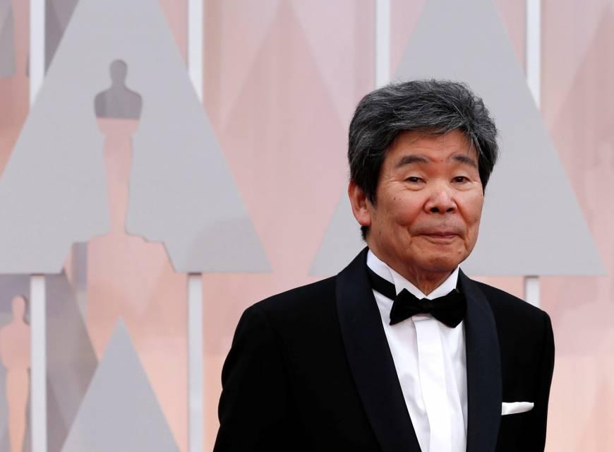 Isao Takahata en los Oscars del año 2015. Fotografía: Reuters.