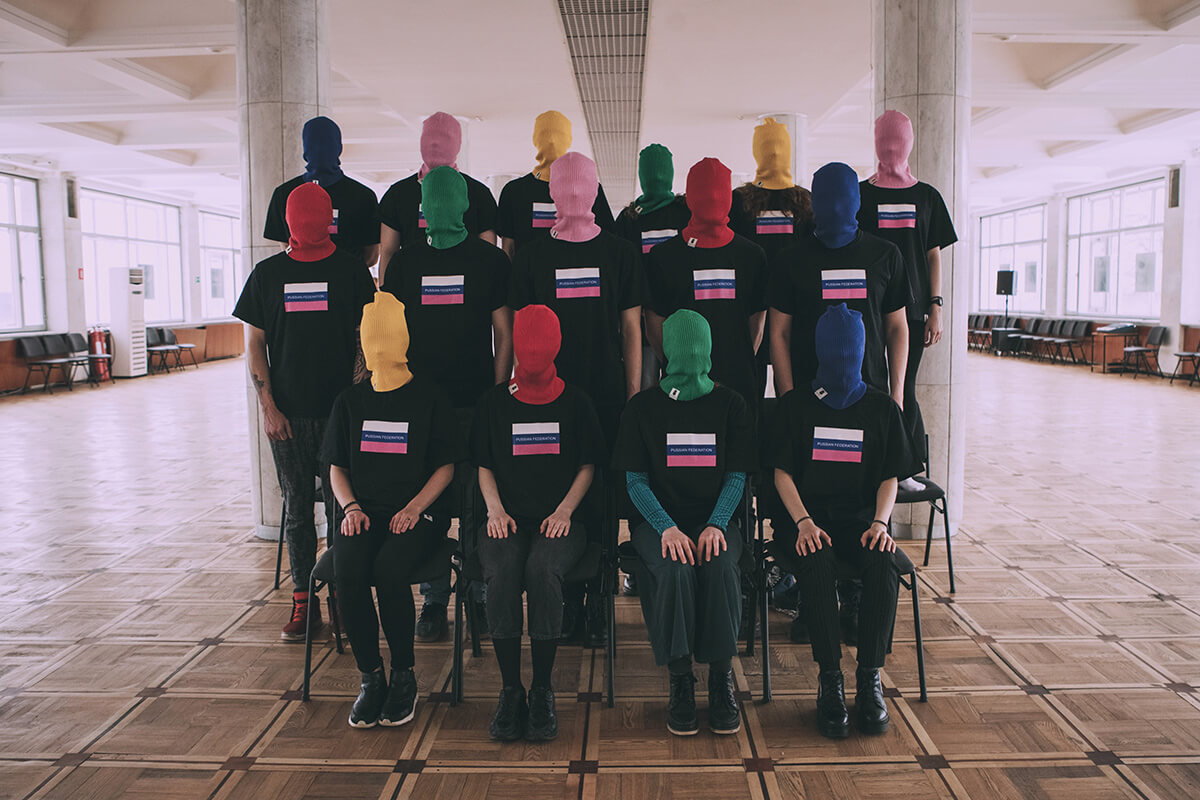 Pussy Riot lanzan una línea de ropa para activistas radicales y rebeldes anti-establishment
