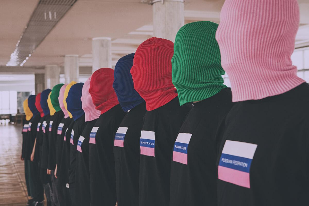 Línea de ropa de protesta de Pussy Riot. Imagen: Pussy Riot