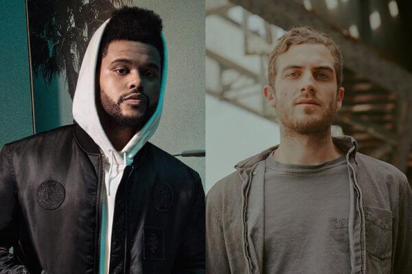 The Weeknd y Nicolás Jaar. Fotografía: H&M/Teddy Fitzhugh