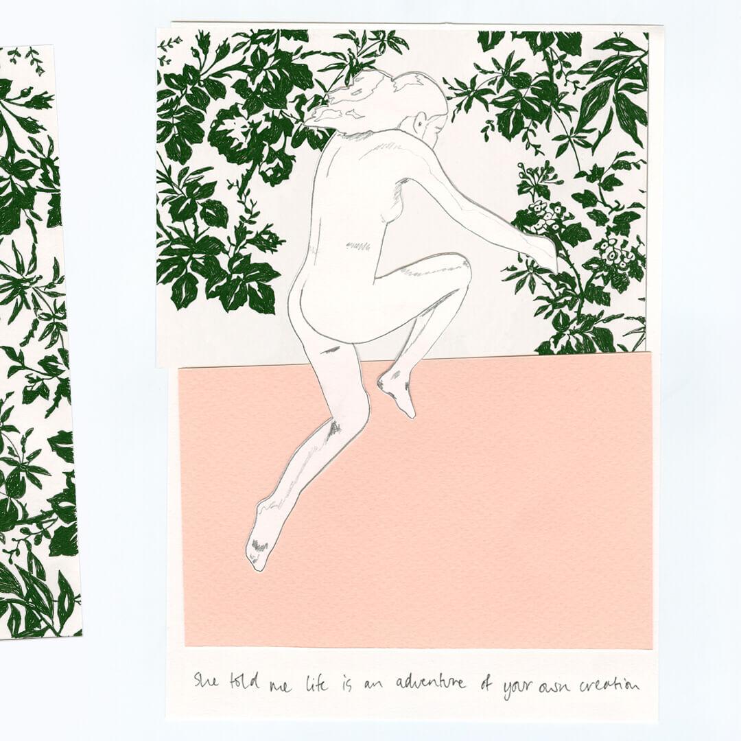 Gucci Bloom Acqua di Fiori. Ilustración: Francis Wilks