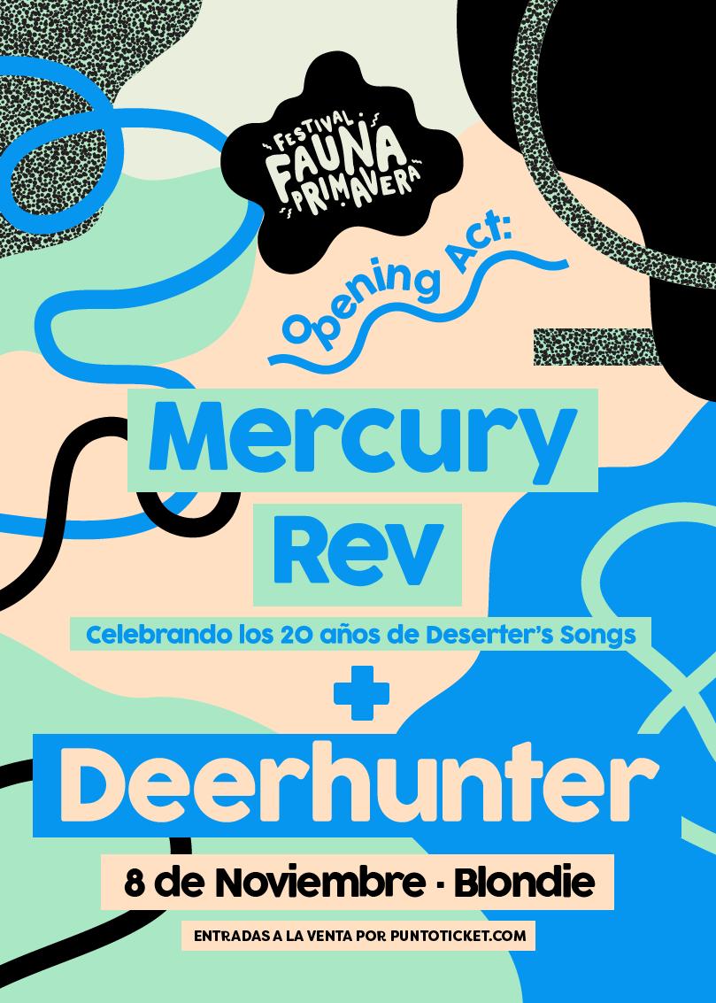 Poster Opening Act Fauna Primavera 2018