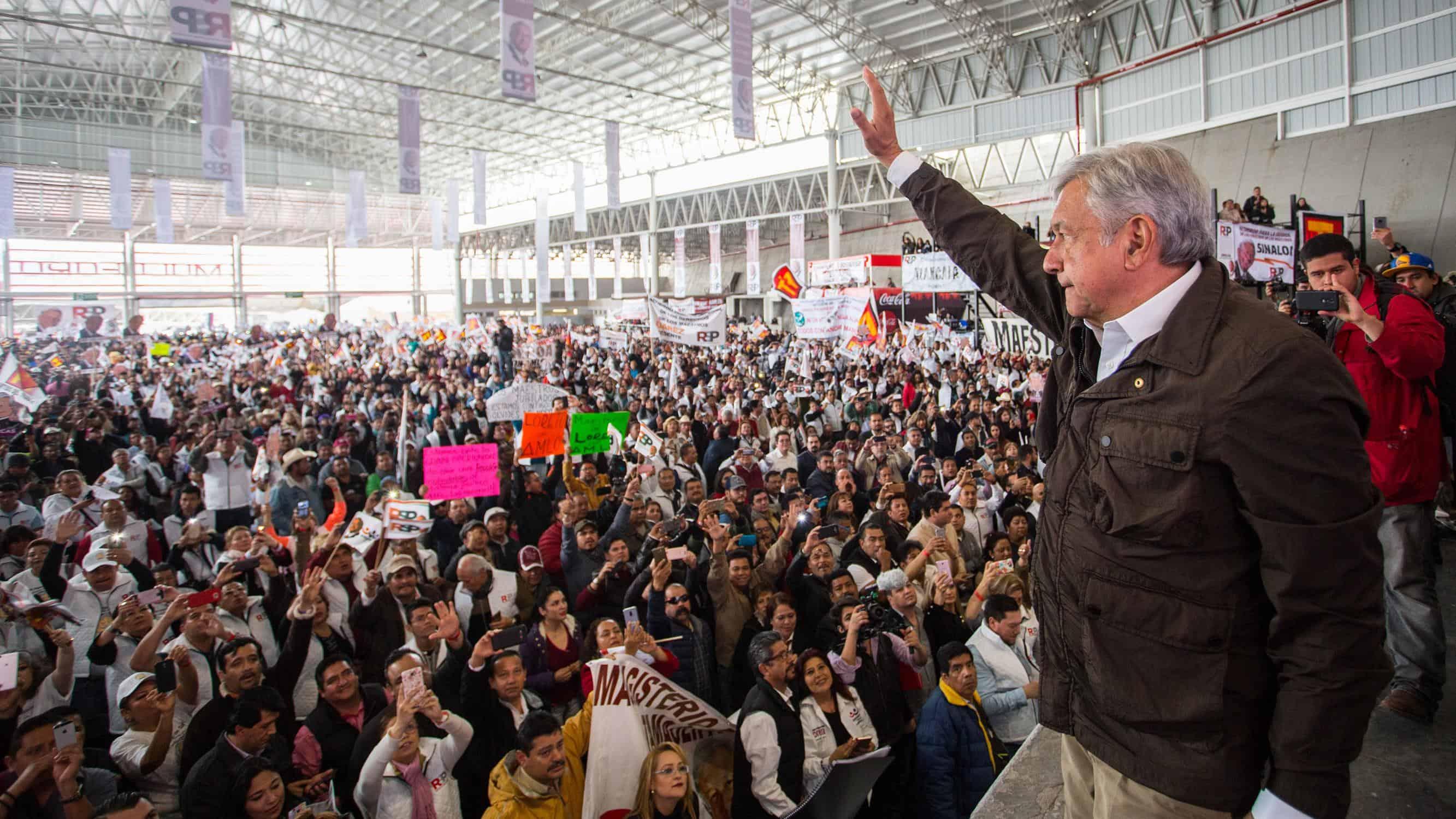 López Obrador, el izquierdista con simpatizantes evangélicos que quiere gobernar a México