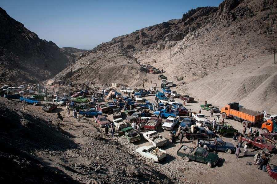 Fuel Smuggling. Fotografía: Sadegh Souri