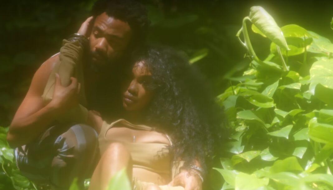 """SZA y Donald Glover son los Eva y Adán del paraíso R&B en el video """"Garden (Say It Like That)"""""""