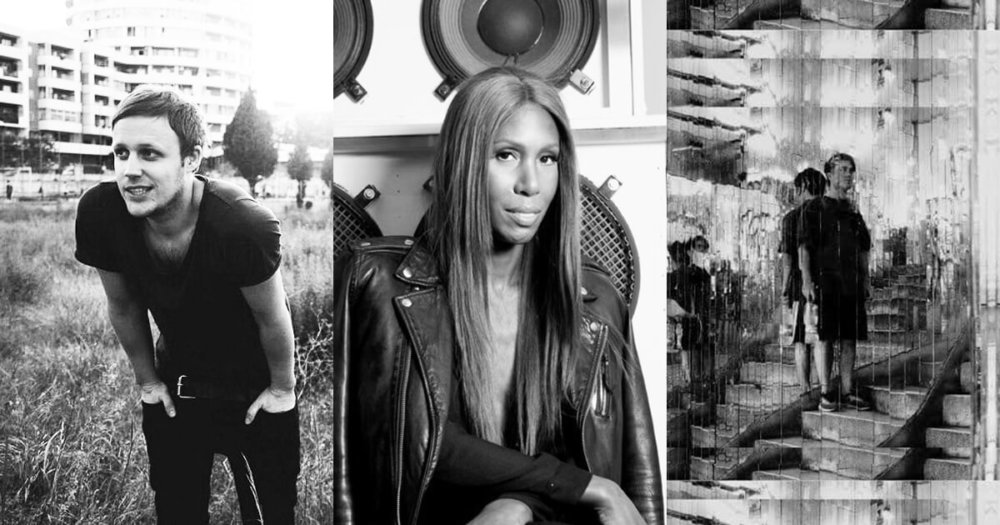 Jan Bloomqvist, Honey Dijon y VNZO. Fotografía: Mixmag / RA / Press