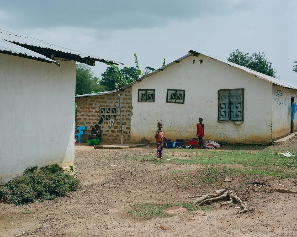Liberian Midwives. Fotografía: Elena Heatherwick