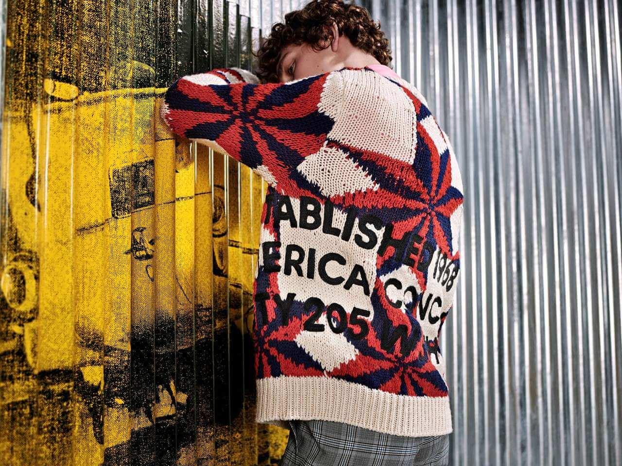 Así se ve la nueva colección de Raf Simons para Calvin Klein inspirada en Andy Warhol