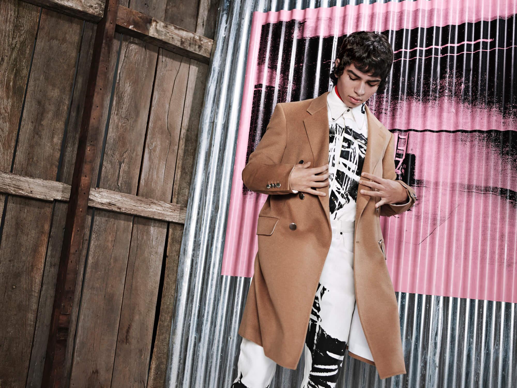 Raf Simons x Calvin Klein Pre Fall 2018. Fotografía: Willy Vanderperre