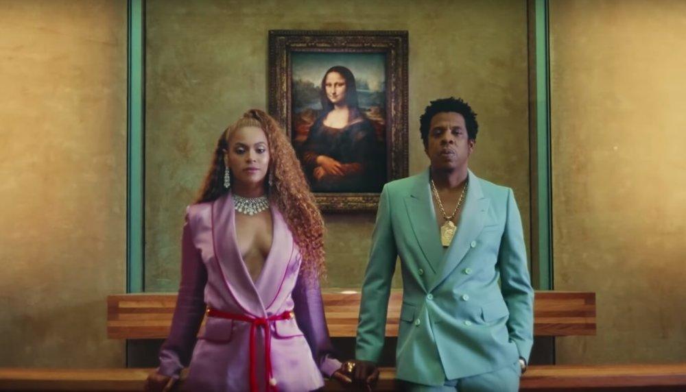 Beyonce y JAY-Z en el video