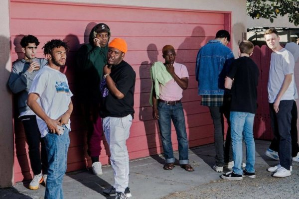 Brockhampton. Fotografía: The Verge
